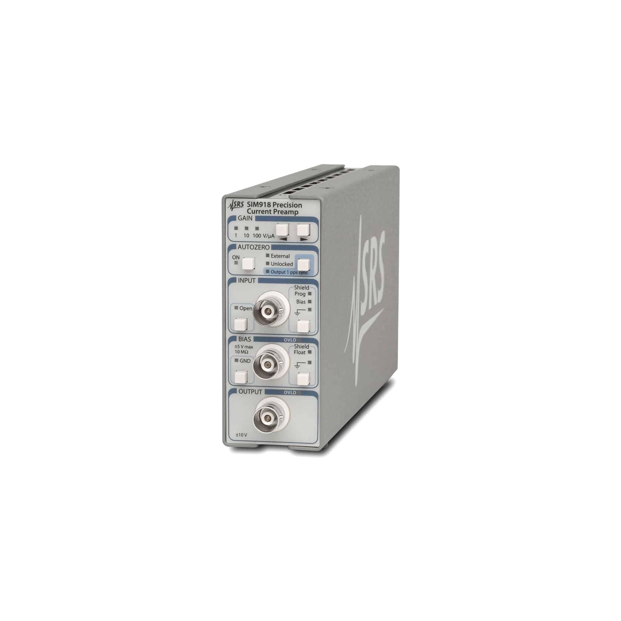 Produktfoto SIM918 Strom-Vorverstärker