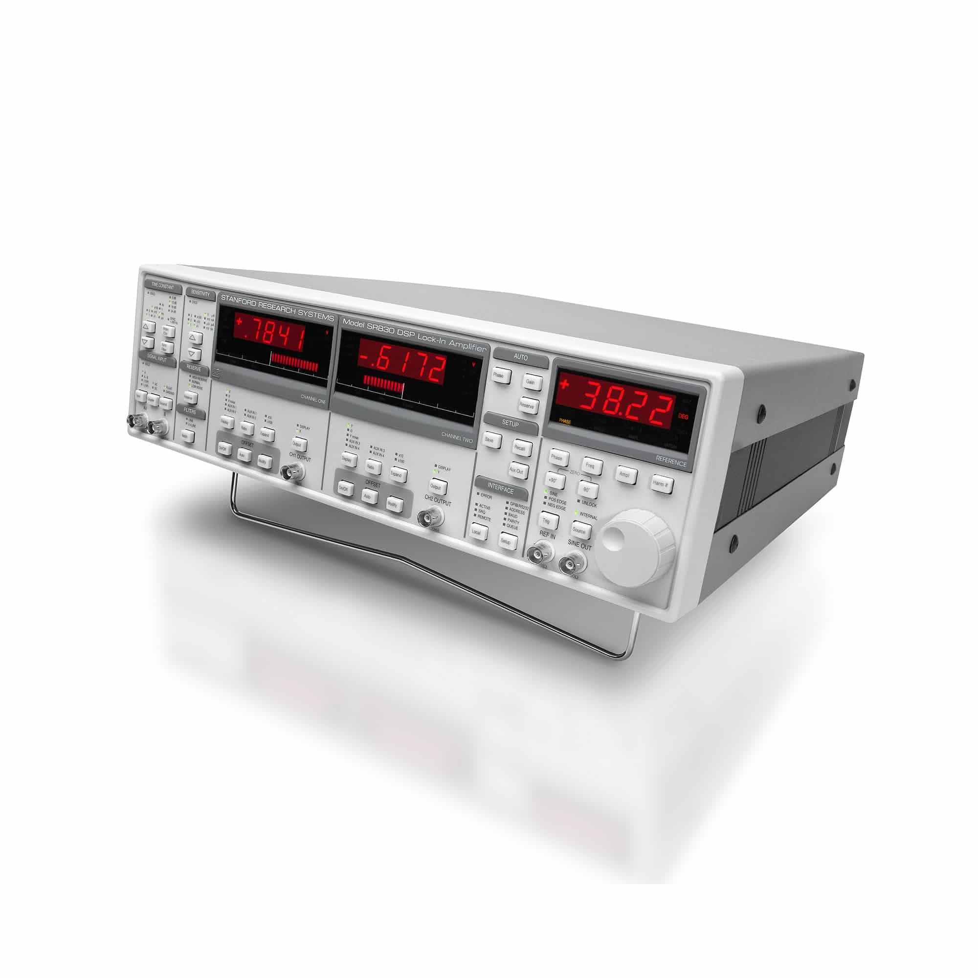 Produktfoto SR830, SR810 digitale DSP-Lock-in-Verstärker