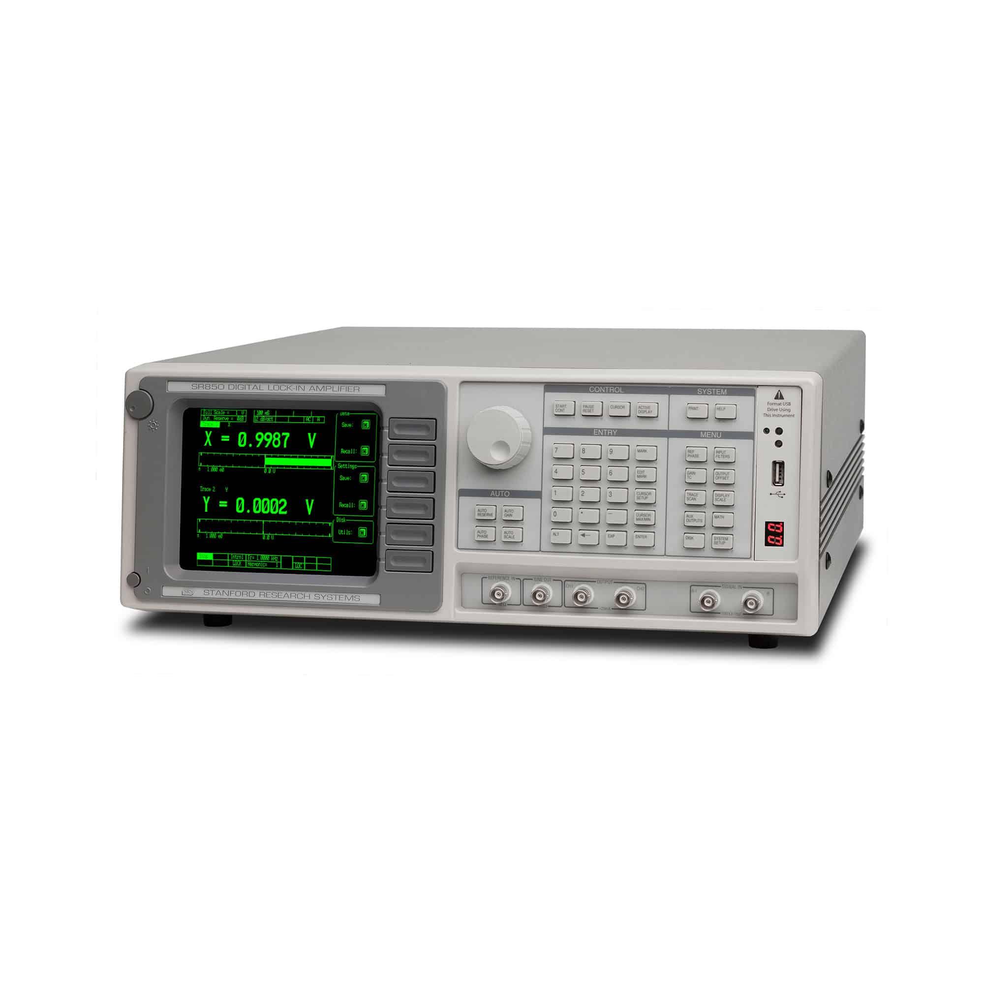 Produktfoto SR850 DSP-Zweiphasen Lock-in-Verstärker