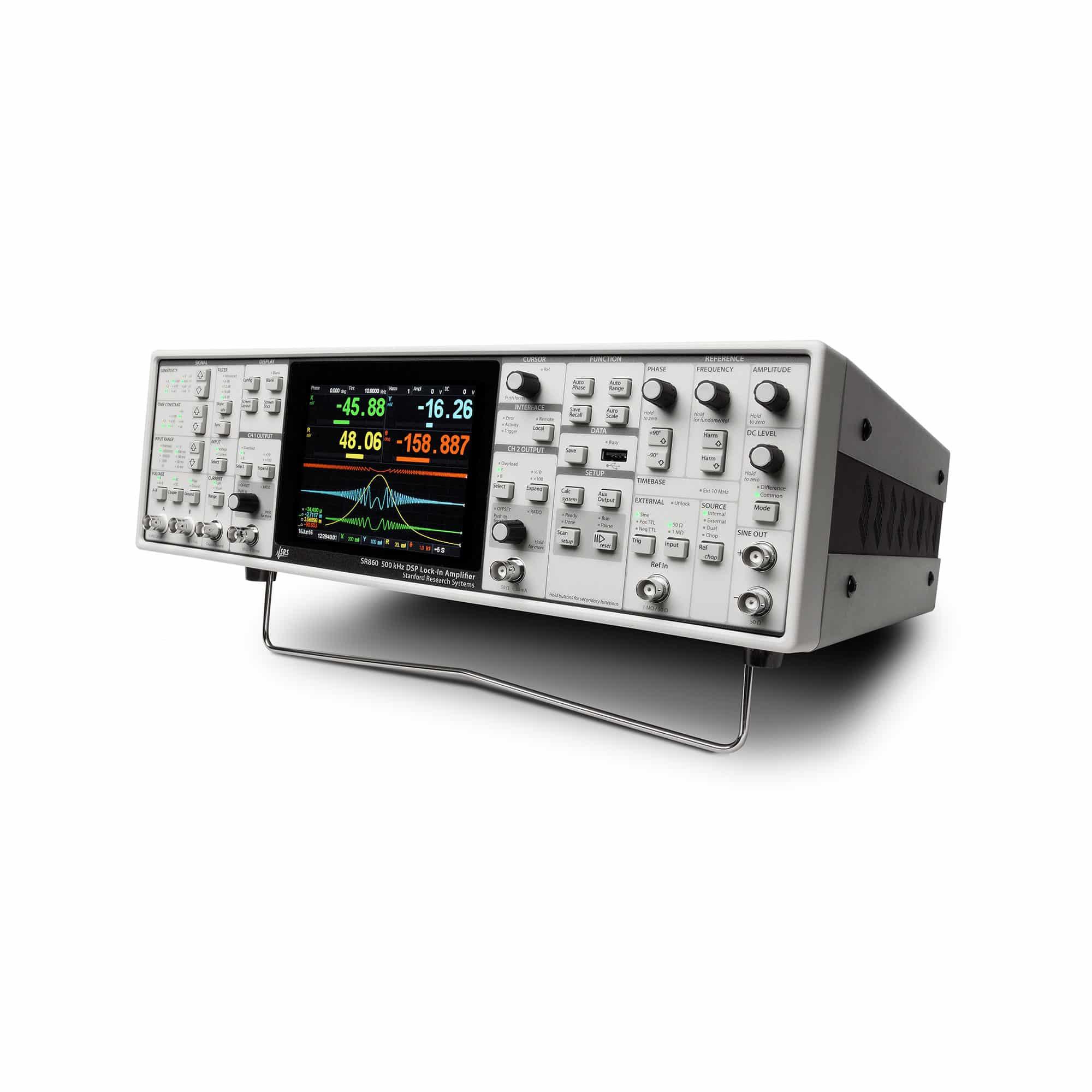 Produktfoto SR860 Zweiphasen-DSP-Lock-in-Verstärker
