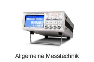 Produktkategorie Allgemeine Messtechnik